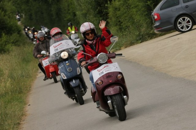 2014 - Vespa on Tour